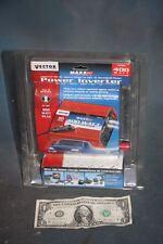 New Power Inverter Vector 400 Watts Car 12 V Battery to 110V AC 2 Plugs 800 Peek