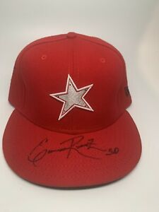 Erasmo Ramirez 2010 Midwest League All-Star Game Signed Hat 7 1/2 Clinton