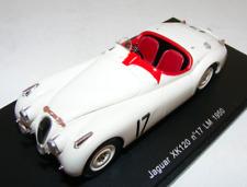 1/43 Spark Jaguar XK120 from 24 Hours of LeMans 1950 Johnson / Hadley S2117