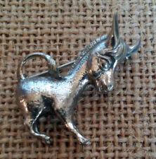 Vintage Danecraft Sterling Silver Brooch Donkey Mule Pin Signed