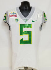 Oregon DUCKS 2016 Alamo Bowl Nike GAME WORN FOOTBALL JERSEY Griffin MEN S 38 63c450db3