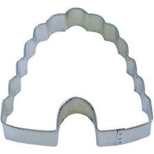 Bee Hive Tin Cookie Cutter 4.25 IN. B0912 - R&M - Tin Plate Steel
