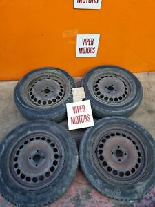"""Vauxhall Corsa D 15 Inch 15"""" Steel Wheels and Tyres 1856515 2006-2014 Ref ST57"""