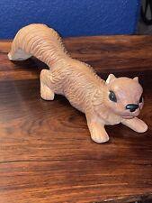 Vintage Artmark Japan Ceramic Squirrel Figurine Lawn Garden Statue