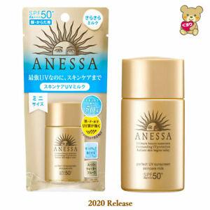 ☀2020 New Shiseido ANESSA Perfect UV Skincare Milk Sunscreen SPF50+/PA ++++ 20ml