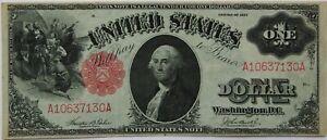 $1 US Note Series 1917  Fr#36 Serial #A10637130A AU