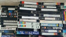 More details for job lot 8 used recordable vhs tapes - some with 80s and 90s uk tv