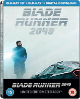 Blade Runner 2049 - 3D Blu-ray - Limited Edition Steelbook - Sold Out OOP