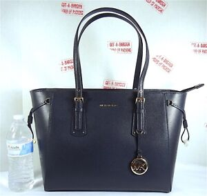 Michael Kors Voyager Admiral Voyager MultiFunction Saffiano Leather Top Zip Tote