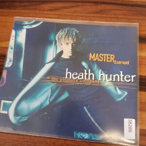 HEATH HUNTER & THE PLEASURE COMPANY : Master & Servant    > VG (MCD)