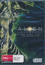Alien Anthology Alien Aliens Alien 3 Resurrection 4-disc DVD NEW Region 4