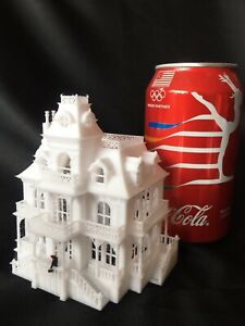 Gold Rush Bay N-Scale Miniature Victorian4 Mansion Train Assembled Haunted House