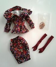 "OUTFIT ""DELIGHTFUL"" Antoinette Cami Tonner 16"" Doll Clothes Necklace Gloves RARE"