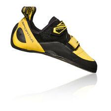 La Sportiva Mens Katana Climbing Shoes Black Yellow Sports Breathable