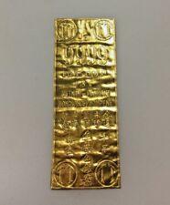 Rare Vintage Vietnam Gold Bar Wafer 9999 FINE-GOLD USA VIETNAM