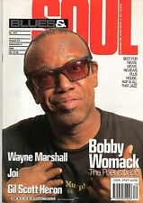 Bobby Womack on Blues & Soul Magazine Cover 1994    Gil Scott-Heron    Joi
