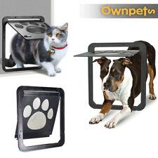 Ownpets Pet Dog Cat Screen Door Magnetic Flap Screen Automatic Lockable Gate