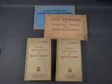 Lote antiguos libro instalación de calefacción fontanería años 1950