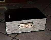 Vtg RCA Victor Slide-O-Matic 45 Record Player Model 6-JM-2 untested estate find!