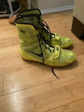 Nike HyperKo Boxing Shoes Volt / Sequoia - 8 Mens'
