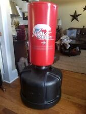 Century Wave Master Freestanding Red Heavy Bag Euc