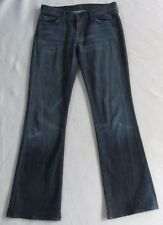 7 Seven for all Mankind Womens Stretch Dark Boot Cut Jeans - Tag 28/Actual 32x32