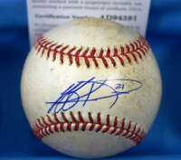JEFF KENT Game Used Signed PSA DNA Major League Baseball Authentic Autograph