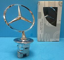 Mercedes Benz Front Hood Mounted Star Emblem OEM# A2108800186 Chrome