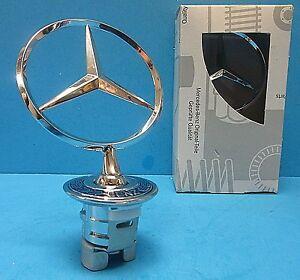 Mercedes Benz Front Hood Mounted Star Emblem OEM# A2108800186 Chrome