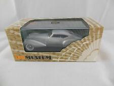 IXO MUS054 1937 Delage D8 120-s Pourtout Aero Coupe in Silver