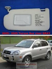 For 05~09 HYUNDAI TUCSON SUN VISORS DRIVER SIDE GRAY GENUINE PART (Trim code QS)