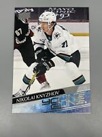 Nikolai Knyzhov 2020-21 Upper Deck Series 2 🏒 Young Guns Rookie RC SP Sharks
