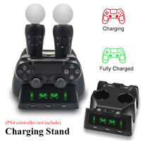 2 USB Charging Charger Docking Station For PS4 Controller Dual Shock Controller