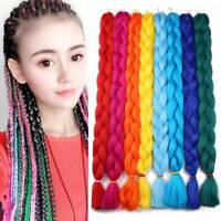 82'' Synthetic Jumbo Braiding Hair Extension Afro Braids 165g Chic