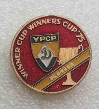 Rare pin DINAMO KIEV WINNER CUP WINNERS CUP 1975