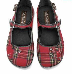 Hot Chocolate Design Chocolaticas MARGARET Mary Jane Flats Shoes Size 39 US 9