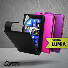 Premium Flip Leather Case Cover for Nokia LUMIA 820 L820 N820 Pouch SP