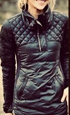 LULULEMON WHAT THE FLUFF Sz 6 8 12 avail Black Down Pullover Jacket