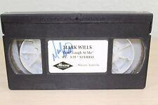 Mark Wills Don't Laugh at Me Mercury Nashville VHS Video SIGNED