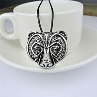 Bear Head Amulet Pendant Necklace Norse Viking Necklace Talisman Jewelry Nice