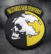 Militaires Sans Frontieres Metal Gear Solid Peace Walker Patch (3D PVC Rubber)