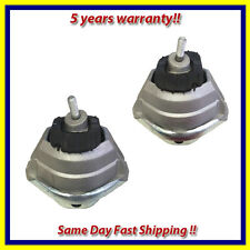 Fits: 2004-2010 BMW 525i/ 528i/ 530i 2.5/ 3.0L Front L & R Motor Mount Set 2PCS.