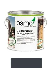 Osmo Cottage Paint Colour: 2716 Anthracite Gray 2,5 L
