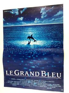 Poster Affiche cinema Le Grand Bleu 51x38cm Besson Arquette Barr Reno