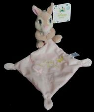 Doudou Lapin Panpan DISNEY Mouchoir Rose Pretty mias bunny NEUF
