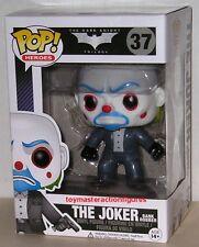 FUNKO POP DC HEROES DARK KNIGHT JOKER BANK ROBBER #37 Vinyl Figure IN STOCK