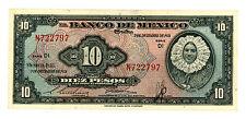 Mexico ... P-53a ... 10 Pesos ... 1951 ... *XF*