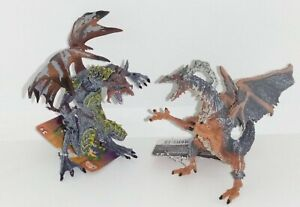 Addo Fantasy Dragons Awesome Animals Duo Pack Dragon Figure Toy  D1