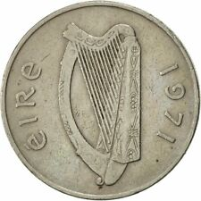 [#419167] IRELAND REPUBLIC, 10 Pence, 1971, SUP, Copper-nickel, KM:23