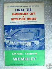1955 FA Cup Final Manchester City V Newcastle United, 7th MAGGIO-Org * EXC